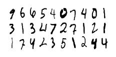 Számok kézírással - Adatbeolvasás